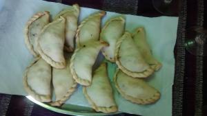 plato de empanadas