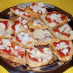 plato pizzetas originales