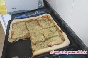 Pizza casera muy fácil