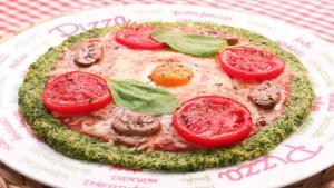 Pizza de brócoli