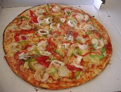 Masa básica de pizza con levadura