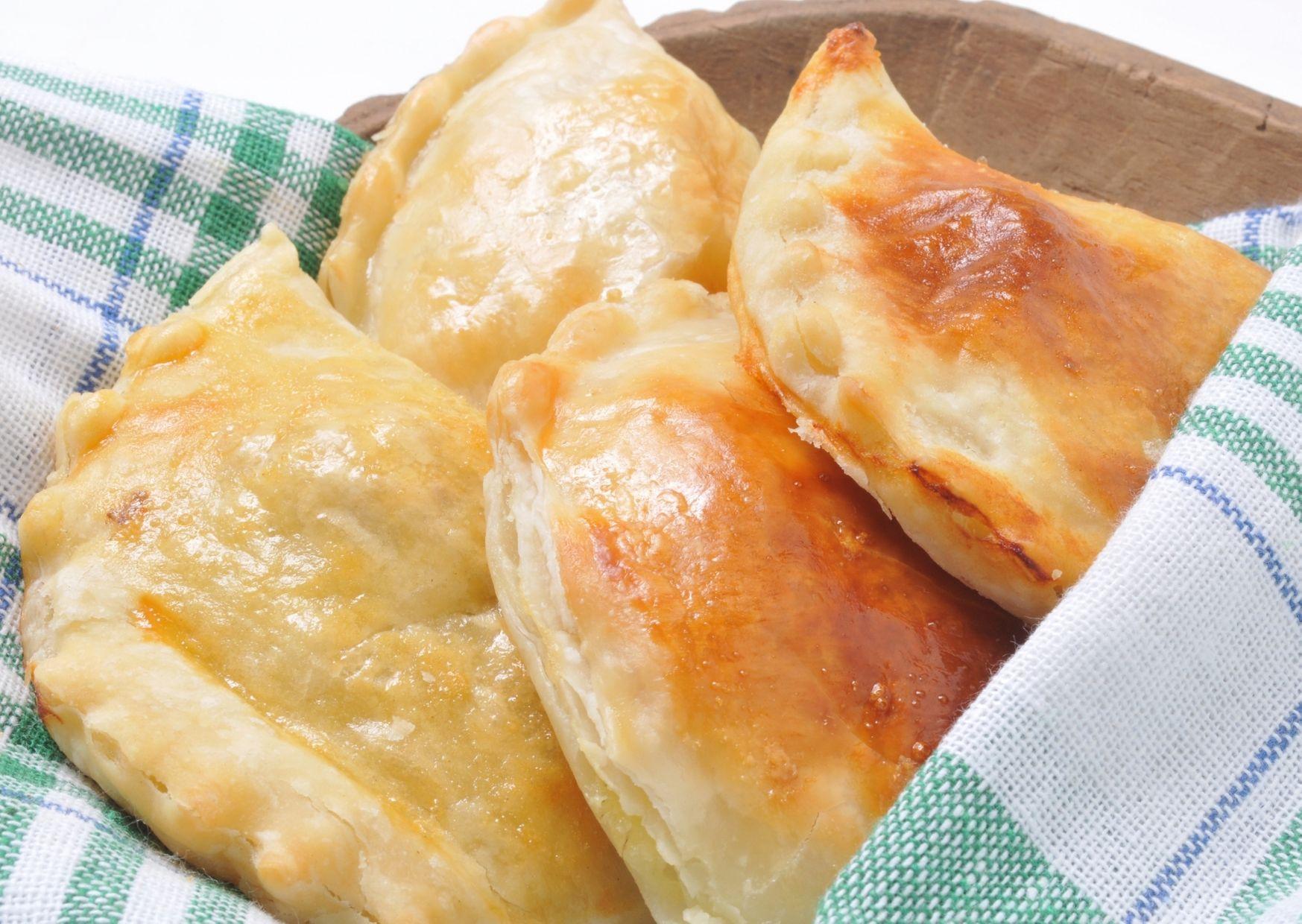 Empanadas de jamón y papas